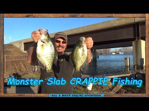 MONSTER Slab CRAPPIE Fishing - TUBE JIGS