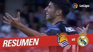 Resumen de Real Sociedad vs Real Madrid (0-3)