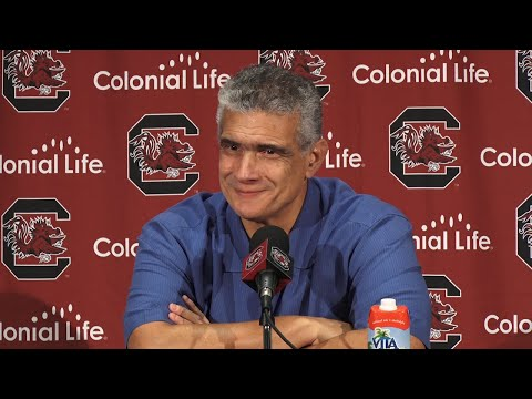 Frank Martin News Conference — 10/28/19