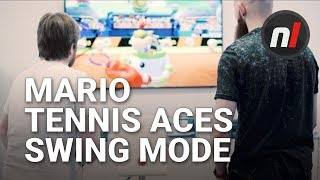 Mario Tennis Aces Swing Mode - What is It? w/ Arekkz