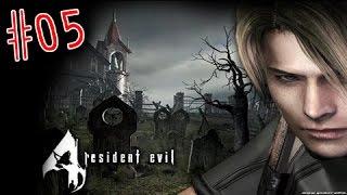 BANHO DE CACHOEIRA - Resident Evil 4 - Parte 05 - Gameplay do Boy
