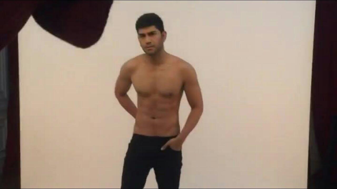 BTS shirtless photoshoot Gandhi Fernando