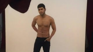 BTS shirtless photoshoot Gandhi Fernando