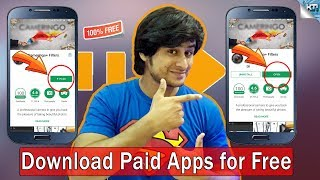 How to Download Paid Apps for free from Play Store | Android Apps for Free | K Tech India