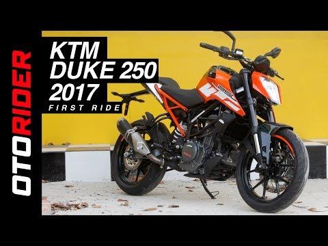 KTM Duke 250 2017 First Ride Review - Indonesia | OtoRider