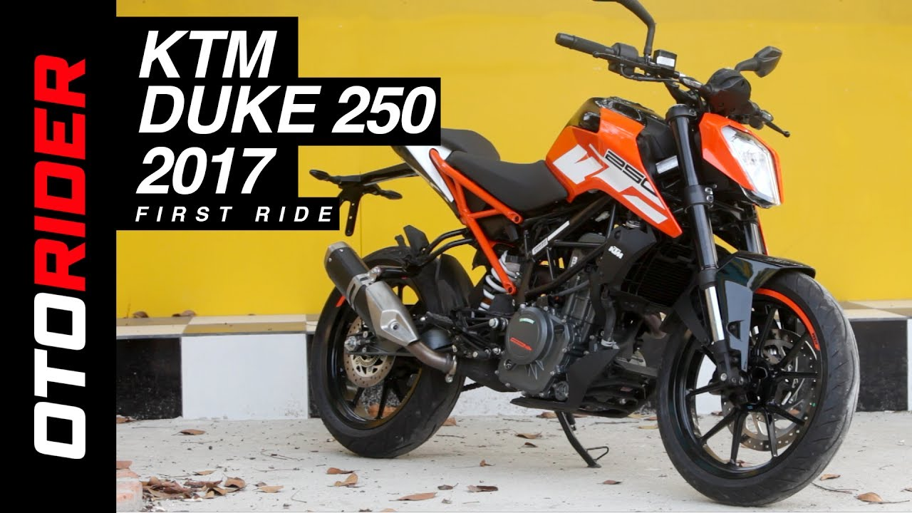 Ktm Duke 250 2017 First Ride Review Indonesia Otorider