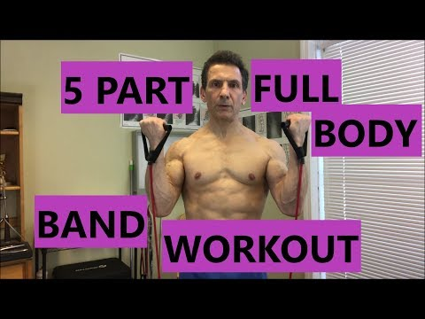 Resistance Bands-5 Part Full Body Workout