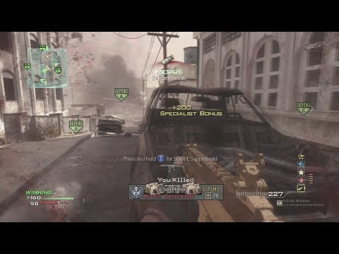 MW3- Hip Fire Only MOAB (I Didn't Aim In Once)