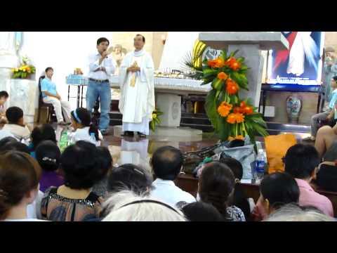 Chứng nhân Lòng Thương Xót của Chúa - trưa 21.7.2011, Nhà Thờ Chí Hòa