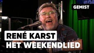 René Karst met het weekendlied! | Live bij 538