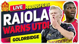 Raoila's MAN UTD TRANSFER Warning! Man Utd Transfer News