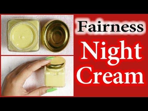 Homemade Night Cream For Fairness And Glowing Skin   RABIA SKIN CARE