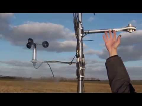 Installing an Adcon Wind Speed Sensor