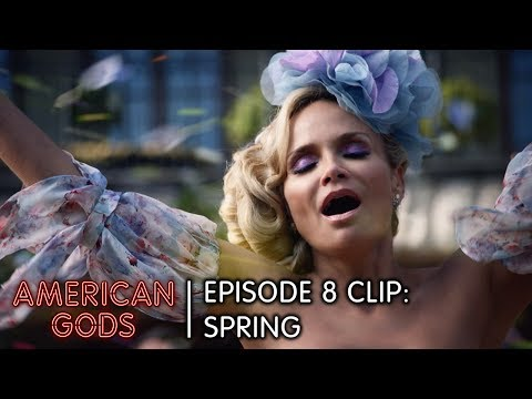 Spring | American Gods Episode 8 Come To Jesus