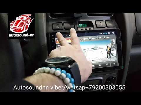 """Штатная Магнитола ZH Hyundai Santa Fe Classic 9"""" (4 ядра 2/32) Android 7.1"""