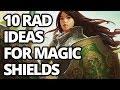 10 RAD Magic Shield Ideas for D&D | New D&D Magic Item Ideas
