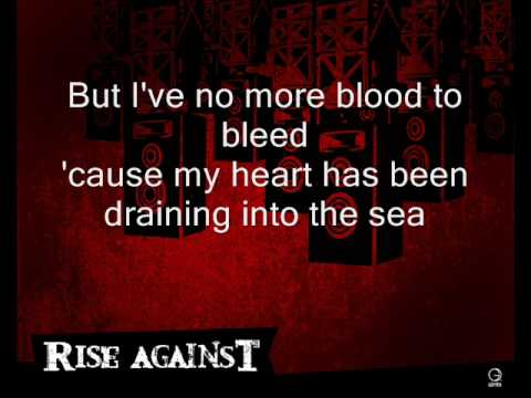 Rise Against - Blood to Bleed (With Lyrics)