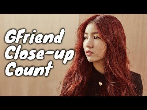 GFriend Close-Up Count