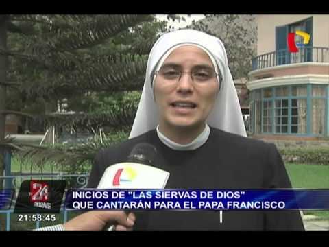 Las Siervas de Dios que cantaron para el papa Francisco