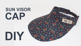 [ENG sub] 자외선 차단 선캡 모자 만들기 DIY Sun visor Cap to keep the sun off [소잉타임즈]