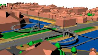 Hull A63 Castle Street Footbridge Designs