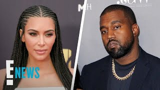 Kim Kardashian & Kanye West Divorce Details | E! News