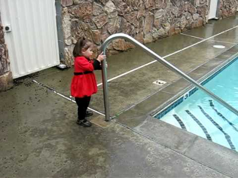 Loose Swimming Pool Handrail Youtube