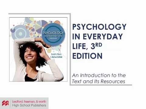 psychology in everyday life Sarah burn psychology in everyday life psychological ideas are used frequently in everyday life they can be found in the media or discussed with your friends or even strangers psychological research findings are regularly found on tv, radio, internet and in newspapers.