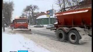 Вся спецтехника выведена для расчистки улиц(Адрес нашего сайта gtrk-saratov.ru гтрк-саратов.рф twitter https://twitter.com/gtrk_saratov facebook https://www.facebook.com/64gtrk vk http://vk.com/sargtrk ..., 2016-01-14T12:07:42.000Z)