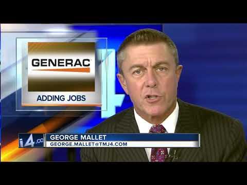 Generac to add 400 jobs in WI