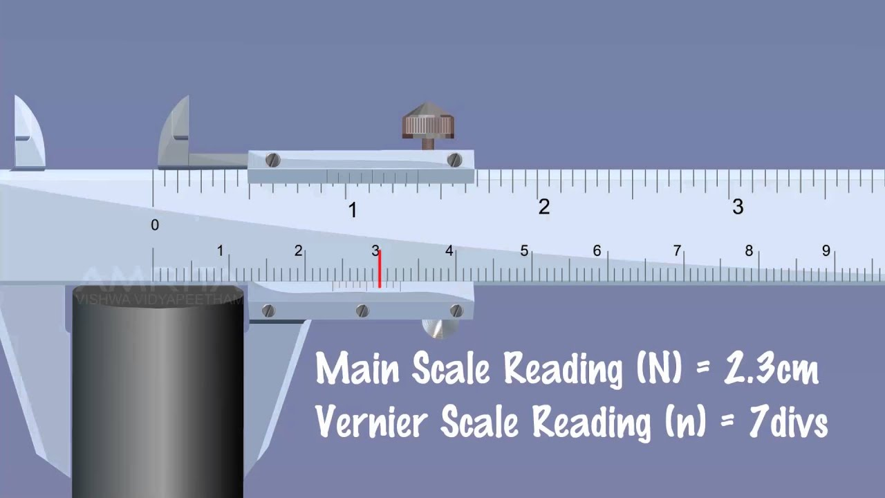 hight resolution of vernier calipers meity olabs