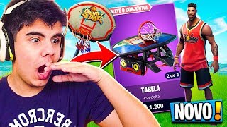 * NEW EPIC SKIN OF THE BASKETBALL PLAYER AT FORTNITE! (PITCH-NBA FINALS) ‹ DENGOSO ›