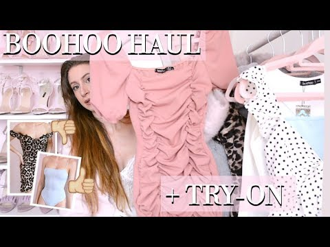 BOOHOO HAUL AND REVIEW