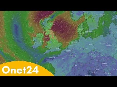 Huragan Ophelia w Irlandii | Onet24