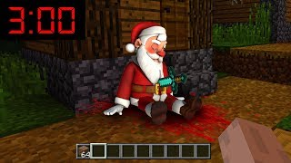 Minecraft: WHAT HAPPENED TO SANTA AT 3AM??(Ps3/Xbox360/PS4/XboxOne/PE/MCPE)