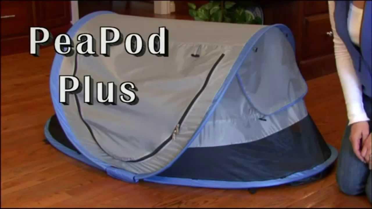& 2013 KidCo PeaPod Plus portable toddler bed - YouTube