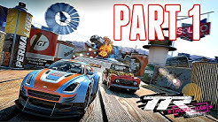 Table Top Racing: World Tour Walkthrough Part 1 - SPARK PLUG TROPHY! (Ps4 Gameplay HD)