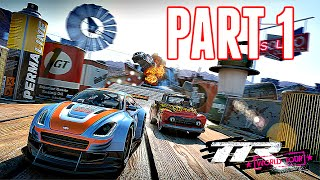 table Top Racing: World Tour - iOS / Android Gameplay Part 1 (by Playrise Digital)