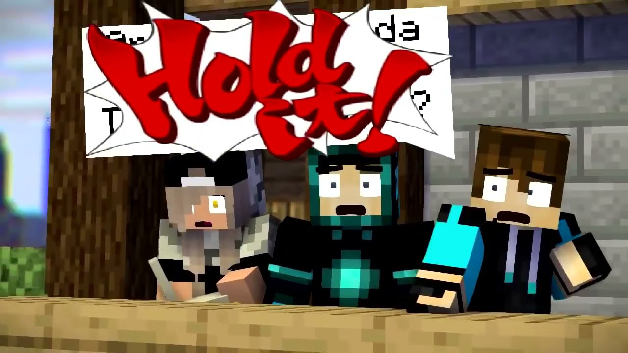 Minecraft tapi Battle Royale!? - Animasi Minecraft Indonesia