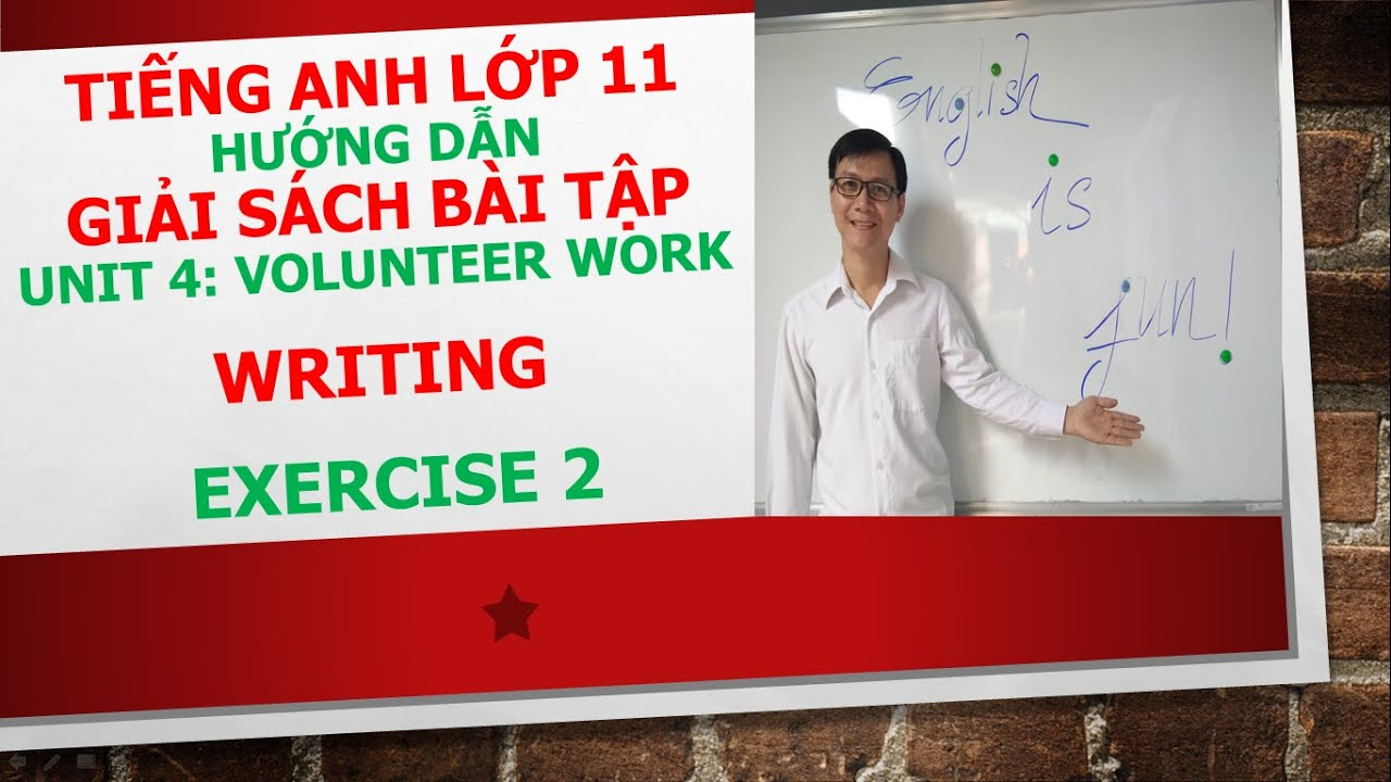 Tiếng Anh lớp 11 – Giải SBT – Unit 4 – Writing – Exercise 2