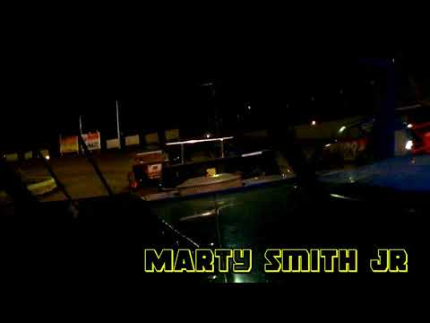 In car cam of Marty Smith Jr @ belle-Clair Speedway 5-4-18