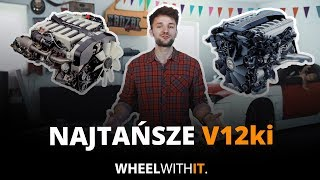 Najtańsze samochody z silnikiem V12