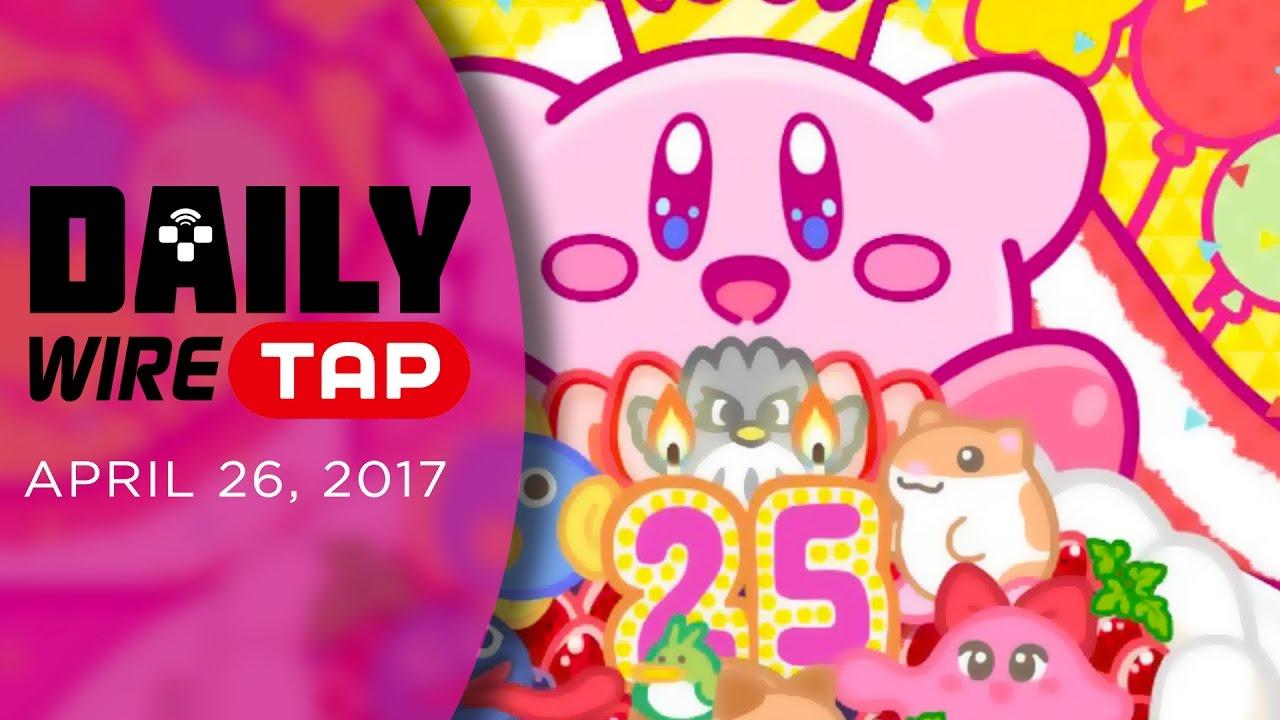 happy birthday kirby nintendo wiretap april 26th 2017 youtube