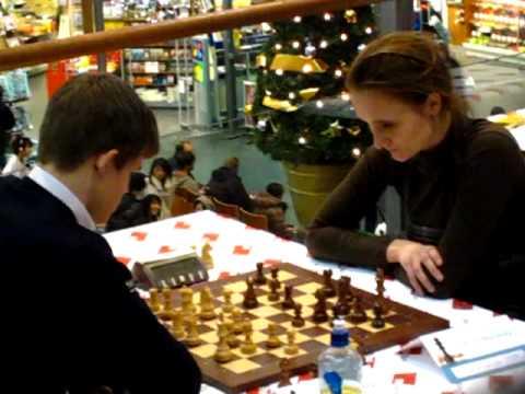 GM Magnus Carlsen vs IM Viktorija Cmilyte - BN Bank Blitz Norway