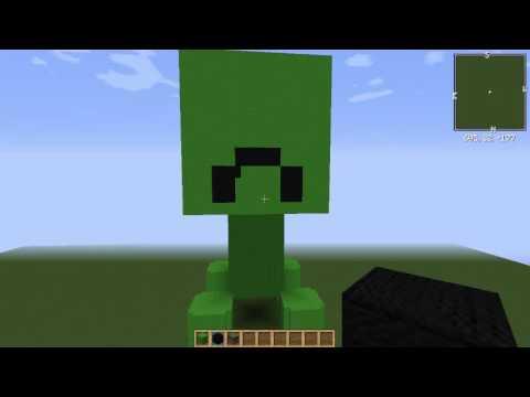 let's play minecraft creeper bauen part 4 [ der creeper bekommt, Hause deko