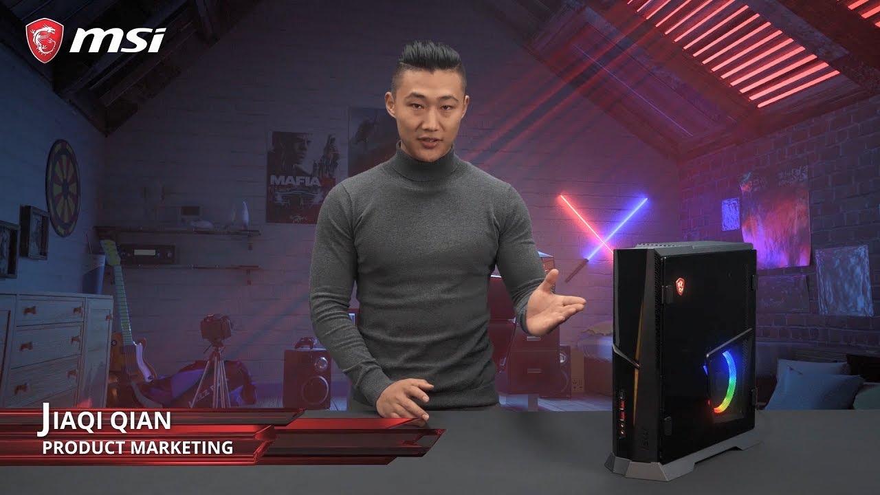 Trident X - Najpotężniejszy kompaktowy PC MSI