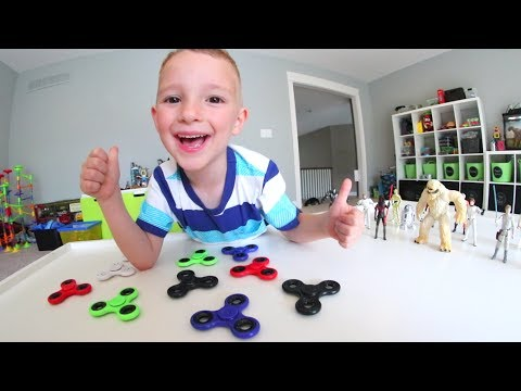 FATHER & SON FIDGET SPINNER WAR!