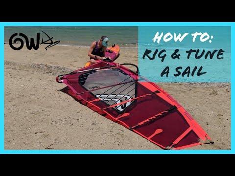 Rigging & Tuning A Sail