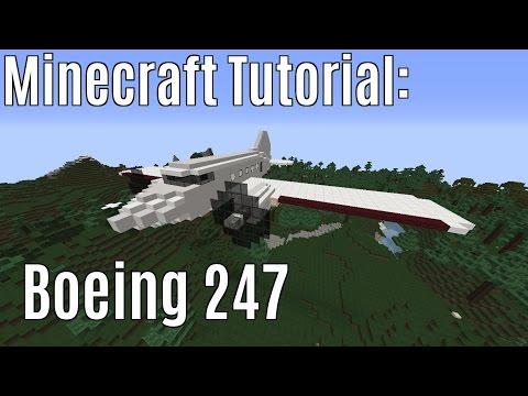 Minecraft Tutorial: Boeing 247