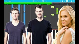 The Chainsmokers - This Feeling PIANO Tutorial EASY (Piano Cover) Kelsea Ballerini
